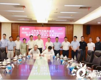 战略合作!晶科能源将为<em>上海</em>电气迪拜DEWA项目提供1吉瓦Swan双面组件