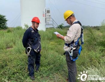 国电河南大岭风电场完成19台发电机技改工作