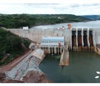 <em>水电十局</em>老挝色拉龙一级水电站2号机组投产发电