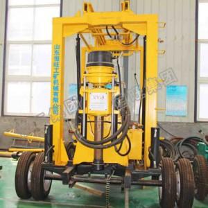 xy-3取芯钻机履带液压取芯钻机600米打井地质勘探取样钻机