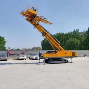 厂家供应边坡支护履带钻机多功能履带岩石电钻锚固钻机工程钻探机