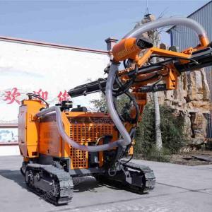 空压一体式潜孔钻机双摆线马达露天矿场履带钻机