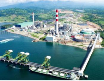 菲律宾最大燃煤电厂卸煤码头完成首次靠船作业