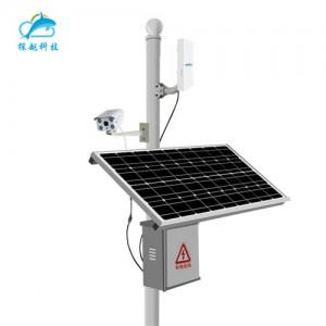太阳能监控供电系统小型离网发电系统阴雨天可用