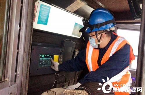 胜利能源研发矿用卡车电动轮温度监控系统