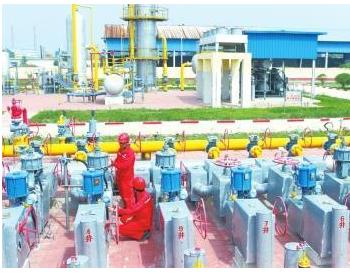 海南省乐东九所镇管道天然气项目正式投用
