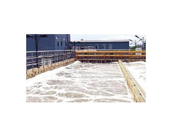 黑龙江省百大项目饶河镇<em>污水处理</em>二期工程进入试运行阶段