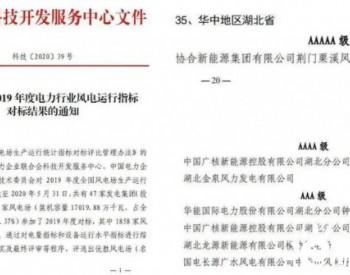 湖北唯一!AAAAA级,长江设计院勘察设计的风电场成功入选