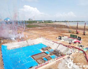 柬埔寨西港燃煤电站主体工程开工