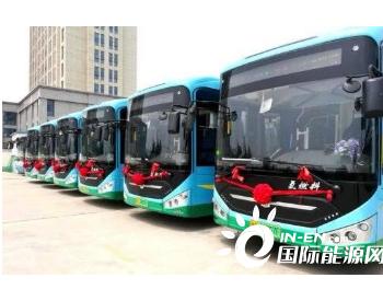 山东潍坊48路氢燃料电池公交车来了