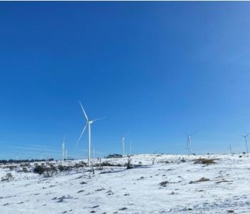 澳大利亚牧牛山<em>风电</em>项目2020年发电量突破1亿度