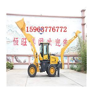挖掘装载 铲车挖机一体机装载挖掘一体机前铲后挖两头忙