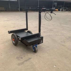 ALC墙板工地运板车结实耐用把手伸缩式小推车