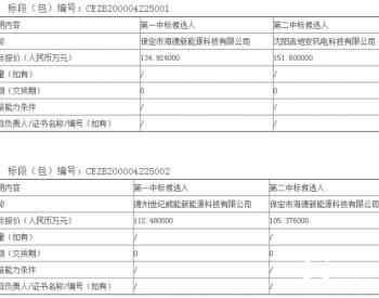 中标丨<em>国华投资</em>山东公司风电场叶片检查服务项目中标候选人公示