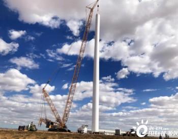 大漠风电内蒙古海力素风电项目塔筒制作顺利<em>完工</em>