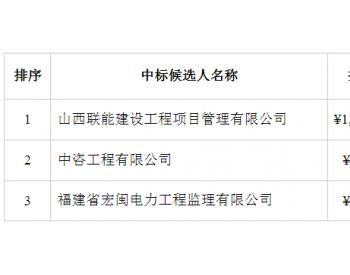 中标|中广核<em>广西</em>乐业县扶贫风电场(逻沙51MW)<em>项目</em>施工监理服务中标候选人公示