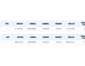 1.15元/kWh,中广核德令哈、青海中控光热发电示范项目纳入补贴清单
