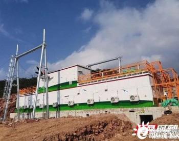 <em>湖南</em>慈利县东岳观镇天鹅池风力发电项目建设全力推进中