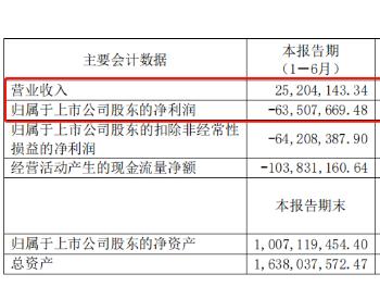 营收2520万、巨亏6350万:<em>亿华通</em>2020半年财报公布