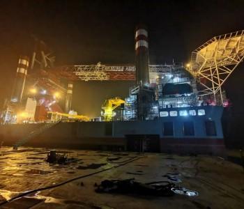 历时22小时!世界最大风电安装平台完成首次插桩
