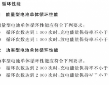 解读储能标准 GB/T 36276-2018《<em>电力</em>储能用锂离子电池》