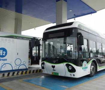 """2年运营100辆氢能公交 四川成都郫都区跑出""""绿色氢都""""加速度"""