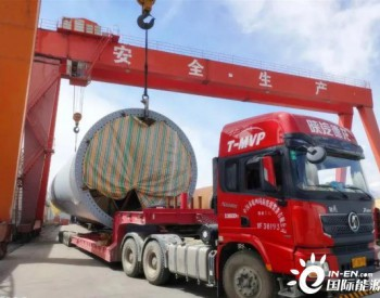 中国水电四局国投青海共和切吉50兆瓦风电项目<em>塔筒</em>顺利完成生产发货任务