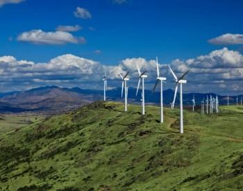 中国能建安徽电建二公司承建来安县半塔风电项目20台<em>风机吊装</em>完成