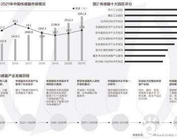 传感器市场规模已超2000亿 十大园区长三角占6个