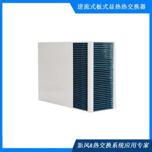 新风热交换芯体 长方形叉流板式热交换核心器 暖通用余热回收器