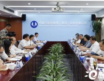 山西市场再发力?三峡新能源与山西省阳泉市政府座谈