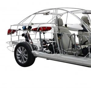 新能源汽车实训台架 新能源汽车检测与结构展示模型