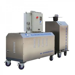 切割化学容器储蓄罐的便携式高压分体水刀切割设备
