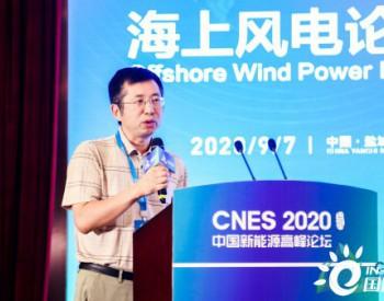 水规总院赵太平:国家级海上风电大基地具有重要发展意义