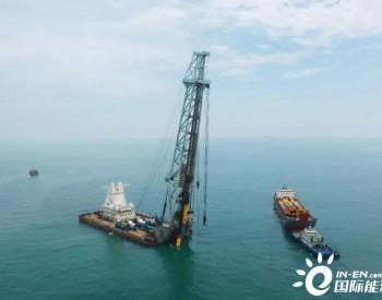 福建<em>平海湾海上风电场</em>三期项目高桩基础沉桩施工完美收官