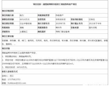 湖南省郴州市柏林工业园热电联产项目