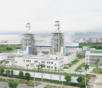 中国能建总承包建设东莞立沙岛天然气热电冷联产项目建成投产