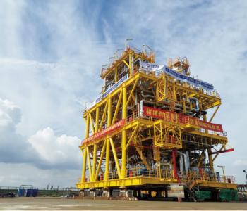 中海油陵水17-2气田开发工程项目核心部件在如交付