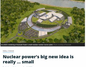 <em>核电未来</em>在于安全、灵活的小型堆:成本仅为大型核电厂的一半