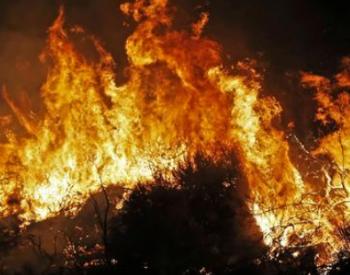 美国山火造成空气污染 烟尘飘到欧洲