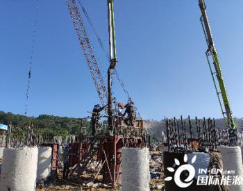 石化四建储运承担福建华星LPG储罐完成全部桩基施