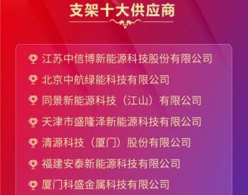 中国好光伏—支架十大供应商排名