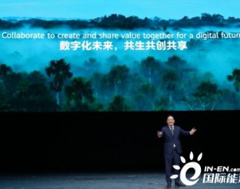 构建数字新范式,共创行业新价值 ——华为携手合