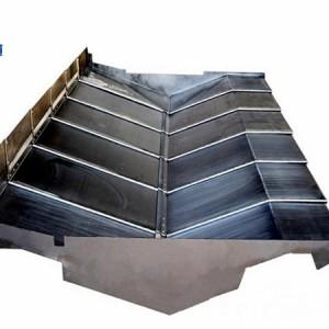 台湾协鸿VMC850加工中心Y轴钢板伸缩防护罩
