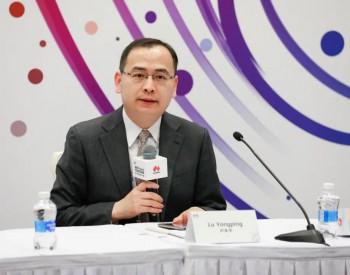 华为企业BG全球能源业务部常务副总裁卢永平