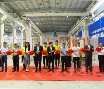 金石机器人常州股份有限公司发布国内首台风电增速器重型桁架机器人!
