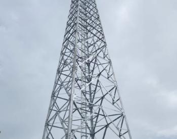 中国能建广西工程局承建菲律宾DITO项目首座4G通信基站开通