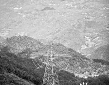 海拔1200米山地,直升机带电检修特高压线路