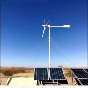 河南商丘 供应3KW小型风力发电机 发电量足 蓝润定制