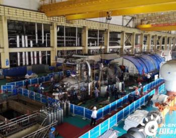 东方电气1000MW级汽轮机通流改造项目完成
